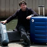 a traveling musician is always moving equipment